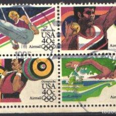Sellos: ESTADOS UNIDOS, AÉREO 1983 YVERT Nº 95 / 98 . Lote 179204091