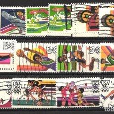Sellos: ESTADOS UNIDOS, AÉREO 1983 YVERT Nº 95 / 98, 99 / 102, 103 / 106 . Lote 179204131