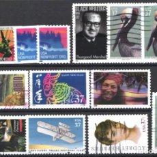 Sellos: ESTADOS UNIDOS, 2003 LOTE DE SELLOS USADOS. . Lote 179328088