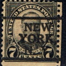 Sellos: (US 1217) SELLO ESTADOS UNIDOS // YVERT 234 B // 1926-34 .. MATASELLOS NEW YORK. Lote 180414993