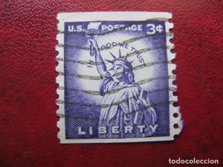 -ESTADOS UNIDOS 1954, ESTATUA DE LA LIBERTAD, YVERT 581A (Sellos - Extranjero - América - Estados Unidos)
