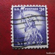 Sellos: -ESTADOS UNIDOS 1954, ESTATUA DE LA LIBERTAD, YVERT 581. Lote 181108763