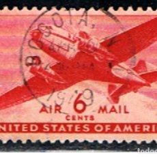 Sellos: (US 975) ESTADOS UNIDOS // YVERT 26 AIR MAIL // 1941-44 (. Lote 181467046