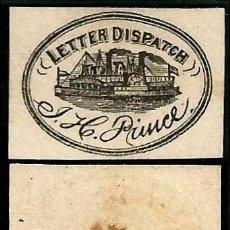 Sellos: USA 1861 MENSAJERIA PRIVADA J. H. PRINCE . Lote 183372167