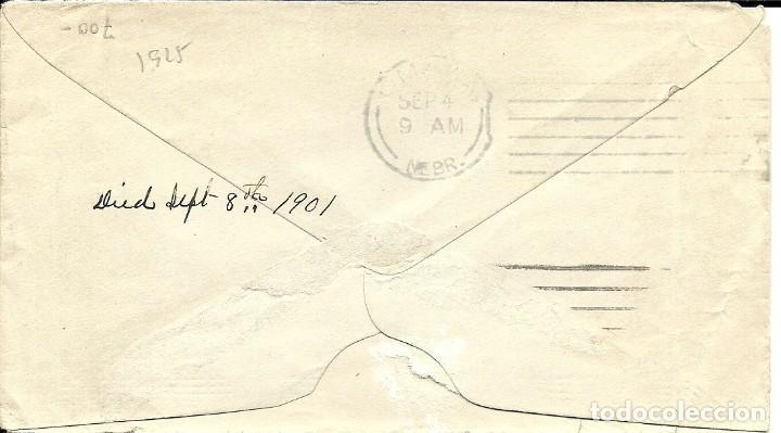 Sellos: Sobre circulado Estados Unidos Ivert 138 , del 1901 , tematica ferrocarriles - Foto 2 - 183769937