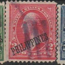 Sellos: LOTE 9 SELLOS ESTADOS UNIDOS OCUPACION FILIPINAS. Lote 183943003