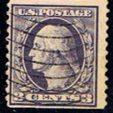 Francobolli: ESTADOS UNIDOS // YVERT 201 A // 1916-19 ... USADO. Lote 186240352
