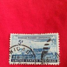 Sellos: SELLO ANTIGUO USA 1948. Lote 187423261