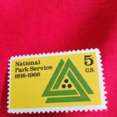 Sellos: SELLO ANTIGUO USA 1966 CON GOMA. Lote 187424513