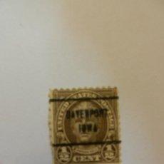 Sellos: SELLO - UNITED STATES - NATHAN HALE - 1/2 CENTS - AÑO 1925 - SOBREESCRITO.. Lote 188514471