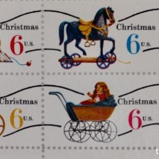 Sellos: CHRISTMAS JUGUETES DE NAVIDAD. Lote 189133901
