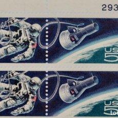 Sellos: LOGROS ESPACIALES 1967,MNH. Lote 189146411