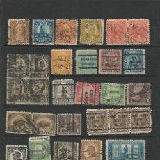 Sellos: EE.UU USADOS VARIOS SIN FIJASELLOS L3. Lote 189319480