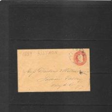 Sellos: 1859 SOBRE ENTERO POSTAL DE 3 CENTAVOS CIRCULADO EN RISTMON. Lote 190925365