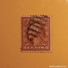 Sellos: ESTADOS UNIDOS - PRESIDENTES - GEORGE WASHINGTON - 4 CENTS.. Lote 191409261