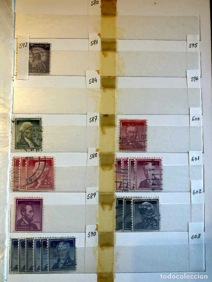 Sellos: ALBUM EEUU. 1876?-1956. - Foto 17 - 194193026