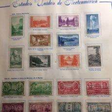 Sellos: MÁS DE 400 SELLOS DE ESTADOS UNIDOS 1875-1950. Lote 194527433