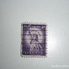 Sellos: USA SELLO DE 3 CÉNTAVOS USADO. Lote 195100856