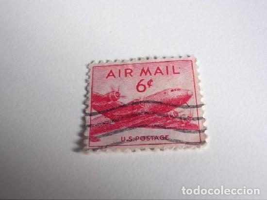 FILATELIA SELLO US POSTAGE AIR MAIL (Sellos - Extranjero - América - Estados Unidos)