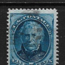 Sellos: ESTADOS UNIDOS 1875 SCOTT # 179 USADO - 2/17. Lote 195445662