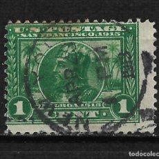 Sellos: ESTADOS UNIDOS 1913 SCOTT # 397 USADO - 2/17. Lote 195445947