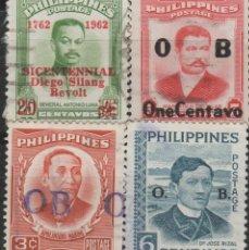 Sellos: LOTE O-SELLOS FILIPINAS. Lote 195669157