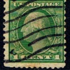 Francobolli: ESTADOS UNIDOS // YVERT 182 B // 1915 ... USADO. Lote 195893766