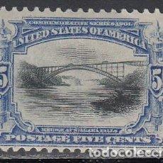 Sellos: ESTADOS UNIDOS, 1893 YVERT Nº 141 /*/, . Lote 195908526
