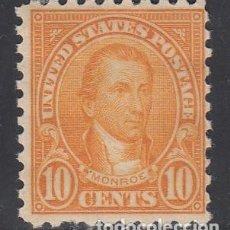 Sellos: ESTADOS UNIDOS, 1922-25 YVERT Nº 237 A /*/ DT.10 . Lote 195918951
