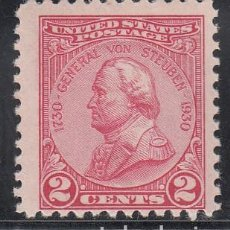 Francobolli: ESTADOS UNIDOS, 1930 YVERT Nº 295 /*/, . Lote 196023292