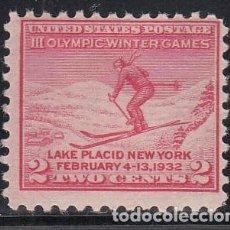 Francobolli: ESTADOS UNIDOS, 1932 YVERT Nº 311 /*/, . Lote 196023377