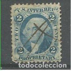 Francobolli: YT 20 TAXES ESTADOS UNIDOS 1862. Lote 196277791