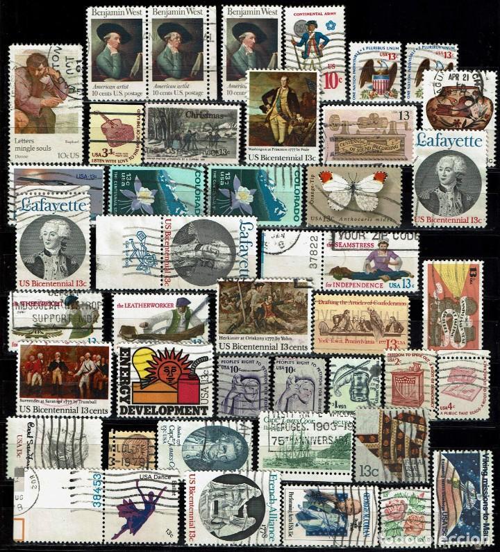 Sellos: ESTADOS UNIDOS: LOTE 150 SELLOS - Foto 2 - 198183581
