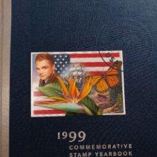 Sellos: ANUARIO DE SELLOS CONMEMORATIVOS USA 1999. NUEVO.. Lote 201926446