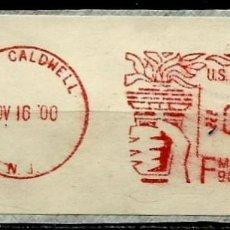 Francobolli: ESTADOS UNIDOS (FRANQUEO MECÁNICO) (PAGADO -.0.60) NUEVA CALEDONIA USADO. Lote 204358771