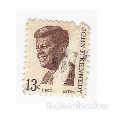 Sellos: SELLO ESTADOS UNIDOS EEUU USA JOHN F. KENNEDY 13 CENTAVOS. Lote 204654648