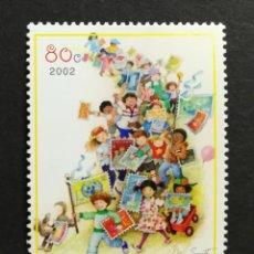 Sellos: NACIONES UNIDAS, NIÑOS DE NEW YORK 2002 MNH (FOTOGRAFÍA REAL). Lote 204719041