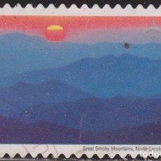Selos: USA 2006 SCOTT C140 SELLO º GREAT SMOKY MTNS, NC & TN PAISAJE ESTADOS UNIDOS US YVERT PA133. Lote 206329122