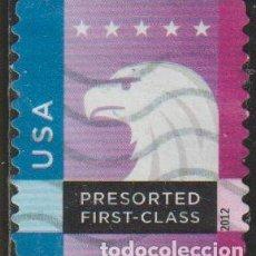 Selos: USA 2012 SCOTT 4587 SELLO º BLUE SPECTRUM EAGLE ESTADOS UNIDOS UNITED STATES YVERT PO96 MICHEL 4771. Lote 206395466