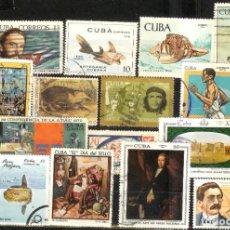 Sellos: LOTE DE SELLOS DE CUBA. Lote 207244445