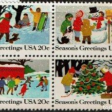 Sellos: SERIE USA GREETINGS 1982. Lote 207857201