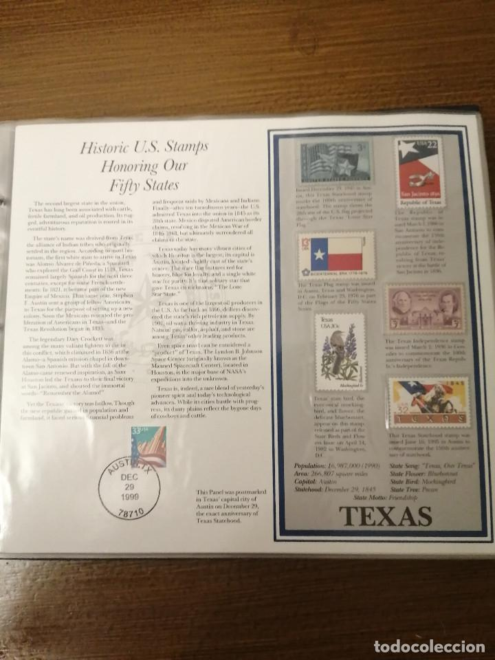Sellos: HISTORIC U.S. STAMPS -HONORING OUR FIFTY STATES- ALBUM COMPLETO 50 STATES , VER FOTOS - Foto 3 - 208993645