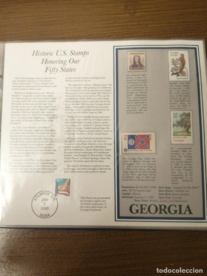 Sellos: HISTORIC U.S. STAMPS -HONORING OUR FIFTY STATES- ALBUM COMPLETO 50 STATES , VER FOTOS - Foto 4 - 208993645