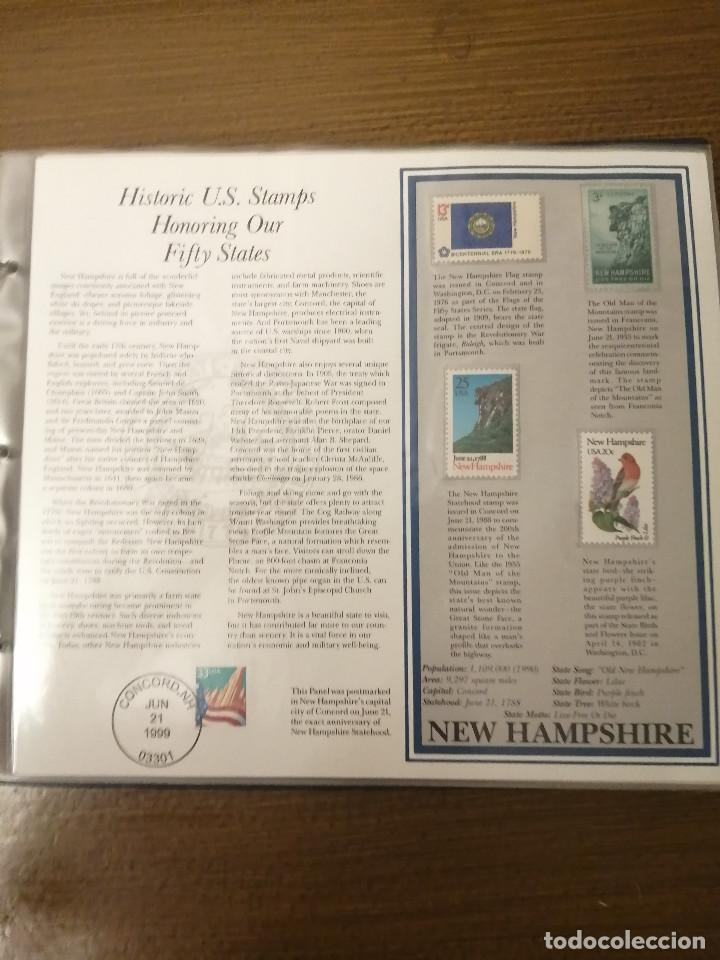 Sellos: HISTORIC U.S. STAMPS -HONORING OUR FIFTY STATES- ALBUM COMPLETO 50 STATES , VER FOTOS - Foto 6 - 208993645