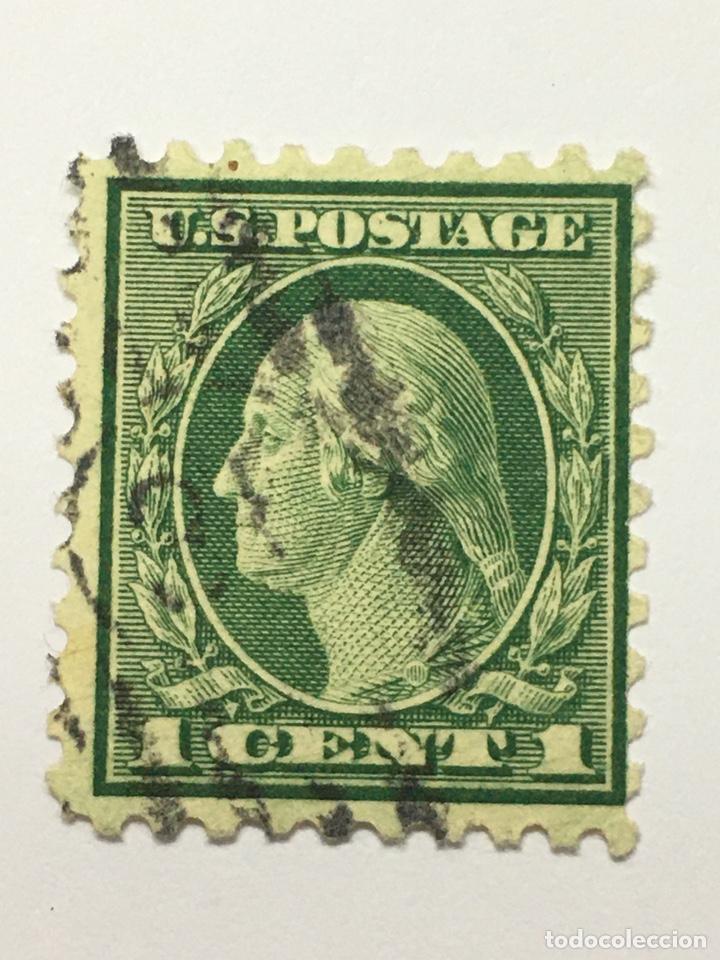 SELLO USA POSTAGE 1 CENT ANTIGUO (Sellos - Extranjero - América - Estados Unidos)