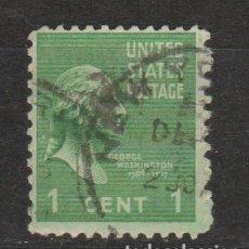 Sellos: 1938.- WASHINGTON. Lote 211617785