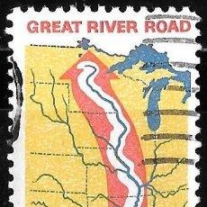 Sellos: ESTADOS UNIDOS 1966. LA RUTA DEL MISSISSIPPI. GREAT RIVER ROAD.. Lote 211820295