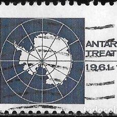 Sellos: ESTADOS UNIDOS 1971. 10º ANIVERSARIO DEL TRATADO ANTÁRTICO. Lote 211823657