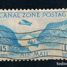 Francobolli: ESTADOS UNIDOS 1932 CANAL ZONE AIRMAIL CANAL DE PANAMÁ - SELLO CLÁSICO US POSTAGE EEUU. Lote 213179916