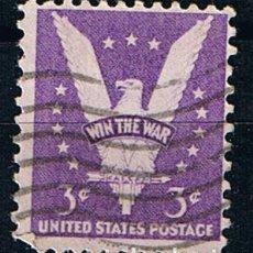 Francobolli: ESTADOS UNIDOS 1942 WIN THE WAR II GUERRA MUNDIAL 3 CENTS - SELLO ANTIGUO US POSTAGE EEUU. Lote 213183808